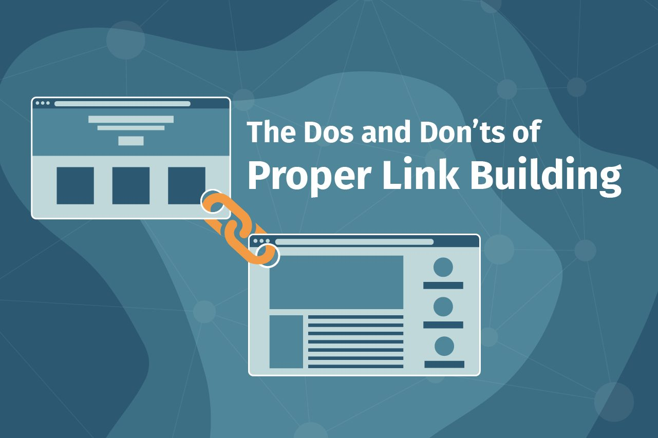 Do's and don't of link building